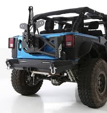 jeep wrangler back smittybilt xrc gen2 rear bumper for 07 17 jeep wrangler jk quadratec
