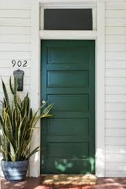 deep green and terracotta tile front door charm pinterest