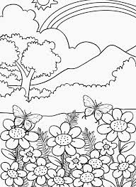 nature coloring pages adults print coloring pages nature