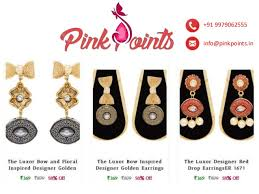 cheap earrings pinkpoints in buy earrings online cheap earrings online earrings o