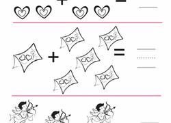 preschool valentine u0027s day worksheets u0026 free printables education com