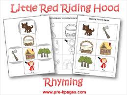 red riding hood literacy red riding hood hoods