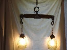 Antique Style Light Fixtures Antique Single Tree Evener Light Fixture