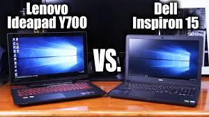 gaming laptops best deals 2016 black friday dell lenovo ideapad y700 vs dell inspiron 15 7000 series gaming laptops