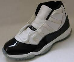 real classic air jordan 11 original concord white black dark shoes