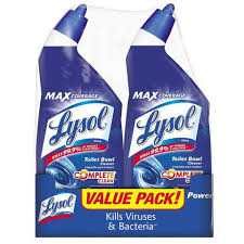 lysol power toilet bowl cleaner value pack 2 count target