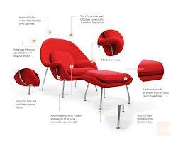 manhattan home design revolutionary womb chair replica ottoman manhattan home design