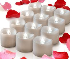 flickering flameless candles 12 battery