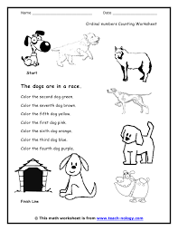 numbers kindergarten worksheet