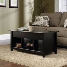 coffee table lubeck walnut contemporary coffee table space saver