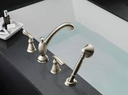 Replace Roman Tub Faucet Faucet Com T4794 Ss In Brilliance Stainless By Delta