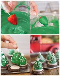 chocolate strawberry christmas tree recipe pictures photos and