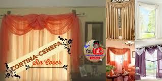 cenefas de tela para cortinas instrucciones para realizar esquinas de servilletas o cortinas
