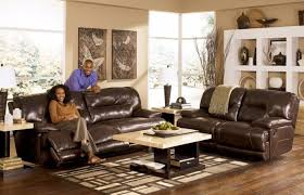 Black Leather Reclining Sofa Living Room Black Leather Sectional Sofa Sofa Loveseat Combo