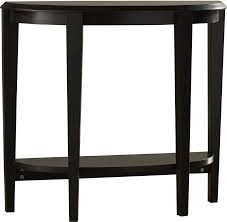 half moon console table with drawer andover mills blakeway half moon console table reviews wayfair