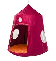 battery powered hanging l family hugglepod hangout outdoor hanging tree tent playhouse with