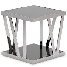 Glass End Tables Furniture Iron Glass End Table Steel Coffee Table Base Round