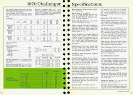 Dodge Challenger Engine Sizes - index of images brochures 1970 dodge challenger dealer brochure