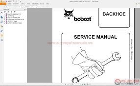 bobcat service manuals full set dvd auto repair manual forum