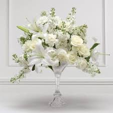 white floral arrangements floral arrangements creating a simple flower arrangement