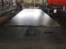 Bar Height Conference Table Vintage Industrial Conference Table And A Frame Vintage