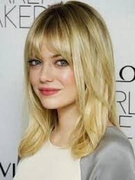 mid length layered haircuts for full face 2015 hairstyles with bangs for women with round faces google