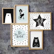 Illustration Kids Art Print Kids Room Decor Nursery Baby Wall - Prints for kids rooms