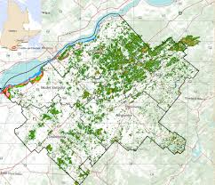 Map Of Quebec Province Canadian Provincial And Municipal Government Geospatial Data
