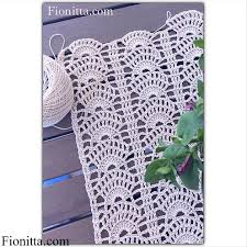 crochet home decor fionitta crochet