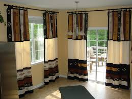 window treatments for kitchen sliding glass doors patio window treatment ideas home design ideas and pictures
