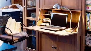 great home office ideas for tiny spaces youtube