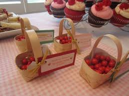 cherry themed twin baby shower diy inspired