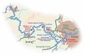 thames river map europe explore the english countryside with river cruises in england from