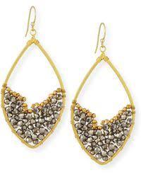 Nakamol Czech Crystal Beaded Chandelier Lyst Shop Women U0027s Nakamol Earrings From 14 Lyst Page 4