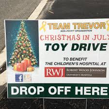 team trevor celebrates christmas in july