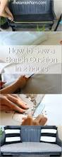 Making A Bench Cushion How To Sew A Bench Seat Cushion Home Design Inspirations