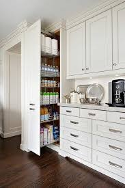 kitchen floor to ceiling cabinets floor to ceiling pull out pantry cabinet transitional kitchen