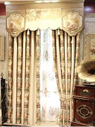 Expensive Curtain Fabric New Chenille Jacquard Fancy Style Curtains Classic Style