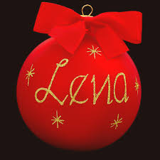 best collections of personalized christmas ornaments balls all