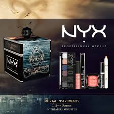 the mortal instruments city of bones halloween costumes parallel worlds makeup collection by nyx inspired by the movie