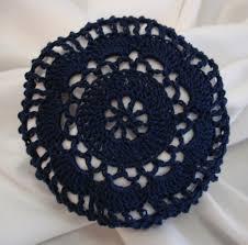 hair nets for buns navy blue crocheted hair net bun cover amish mennonite merrydeals4u