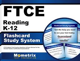 ftce reading k 12 flashcard study system ftce test practice