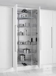 kitchen larder cabinet kitchen storage solutions rotating pull out larder kitchen