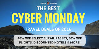 the best cyber monday travel deals for 2016 thrifty nomads