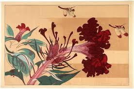 e flowers rakusan tsuchiya dragonflies and flowers japanese open