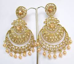 dangler earrings buy gold plated chand bali dangler earrings online
