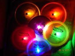 glow lights 16 led disc golf lights frisbee disc golf glow golf battery fast