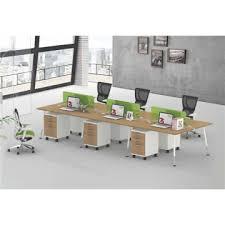 desk for 3 people hc gke 08 china modern office furniture white steel legs desks l