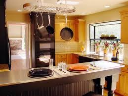 kitchen room fantastic ceiling oval pot rack chrome polished over