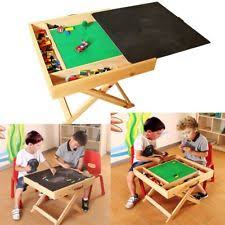 kids play table with storage duplo compatible folding slft wooden storage kids children play